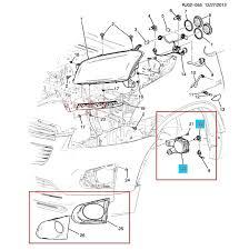 genuine fog lamp light cover wiring switch set for chevrolet fog lamp wiring harness x 1