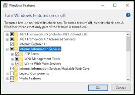 Iis Web Server Internet Information Services