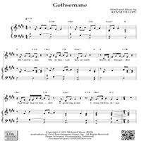 gethsemane sheet music your lds music store your lds music store