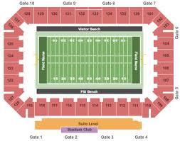Fiu Football Stadium Seating Chart Fiu Stadium Football Tickets And Fiu Stadium Football