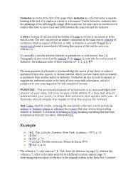 Footnote Note Typography Symbols