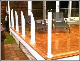glass deck railing systems toronto home depot