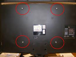 Vesa Mounting Pattern Interesting 48PFL48DF48 Philips LCD TV 48PFL48D 1048cm 48 Full HD 48p