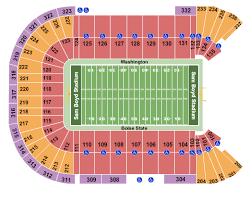 Sam Boyd Stadium Seating Chart Las Vegas