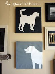 Diy Canvas Art Diy Canvas Silhouettes With Your Own Pictures The Final Steps