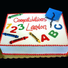 Kindergarten Graduation Cake Designs Image Preschool Ideas