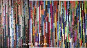 Jelly Roll Race a/k/a Random Plank quilt | Exuberant Color & Measure the length of all of your strips sewn together and divide it by 32  (the number of strips in one direction on every quilt). Adamdwight.com