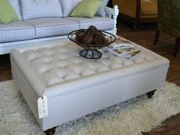 square leather ottoman coffee table wonderful big square ottoman large square leather ottoman coffee table square