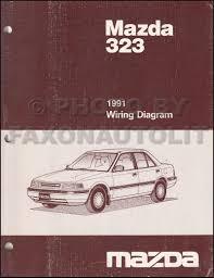mazda service manuals shop owner maintenance and repair 1991 mazda 323 and protege wiring diagram manual original