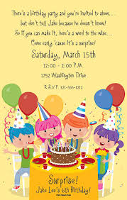 Invitation Words For Birthday Party Birthday Invitation Wording Ideas