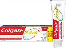 ROZETKA | Комплексная <b>зубная паста Colgate Total</b> 12 Чистая ...