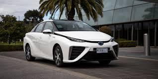 2018 toyota mirai. toyota mirai hydrogen fuel cell vehicle lands on australian roads 2018 e