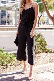 Audrey Black Jumpsuit by Priceless