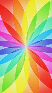 Rainbow Colors iPhone X Wallpaper HD ...