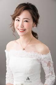 korean bridal makeup hairstyling singapore professional makeup artist studio autelier makeup