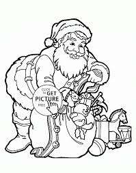 Small Picture Santa Coloring Page Coloring Coloring Pages