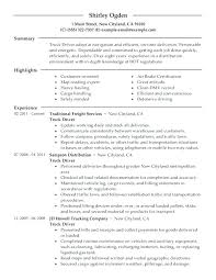 Delivery Driver Resume Examples Delivery Driver Resume Taxi Driver Resume Pizza Delivery Driver