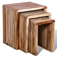 Nesting furniture Convenient Three Piece Nesting Tables Reclaimed Teak Kitchen Table Computer Desk For Home Furniture Aliexpresscom Three Piece Nesting Tables Reclaimed Teak Kitchen Table Computer