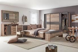 Schlafzimmer Komplett Möbel Braun Wandfarbe Schlafzimmer