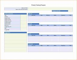Workout Program Sheet | Cvfree.pro