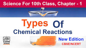 types of chemical reactions class 10 in hindi reaction and equation class 10 science science
