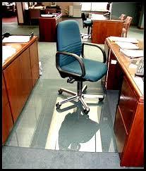 office chair mat after