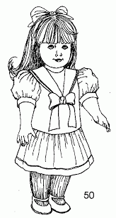 Xignmm7yt American Girl Coloring Pages Printable 12