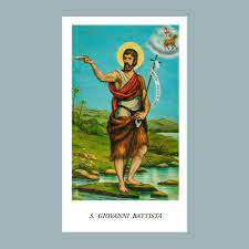 Santino San Giovanni Battista