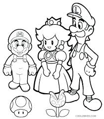Mario Kart Printable Coloring Pages New Printable Mario And Luigi