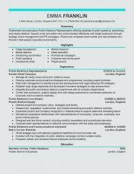 Livecareer Resume Template Custom Public Relations Resume Template Wonderful Public Relations Resume