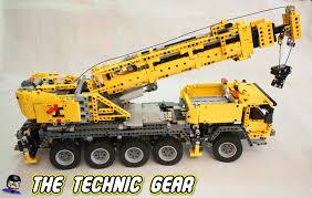 Lego Technic 42009 Mobile Crane Mkii Review Lego Reviews Videos