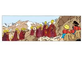 """Résultat de recherche d'images pour """"tintin au tibet"""""""