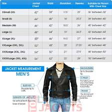 Leather Jacket Size Chart Panash For Him Black Leather Jacket For Men In Pakistan