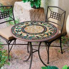 small mosaic patio table furniture conversation sets wish clearance