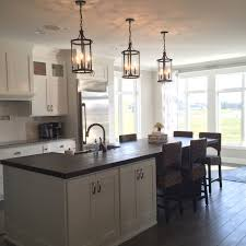 Barn Lights For Kitchen Pottery Barn Belden Pendants Reclaim Wood Island Farmhouse