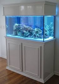 aquarium furniture design. Home Design: Decorating Small Aquarium Stand With White Furniture Design