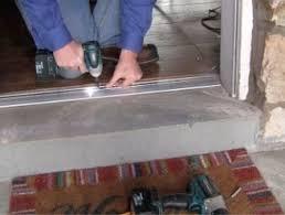 front door thresholdExterior Door Threshold Types  Frost King Weatherization Products
