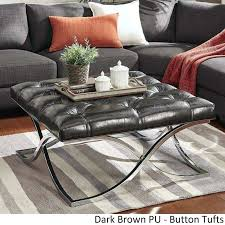 coffee table upholstered full size of coffee storage ottoman ottoman coffee extra large ottoman coffee table