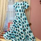 Шьем платье из ситца