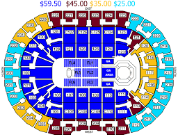 Wells Fargo Arena Eric Church Seating Chart 52 Qualified Quicken Arena Cleveland Seating Chart