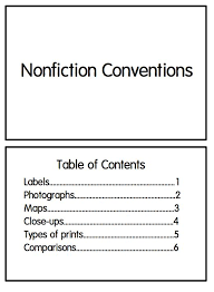 Fantastic Table Of Contents Definition For Kids F36 About Remodel