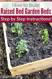 diy raised bed garden beds ready to start your garden these super simple diy