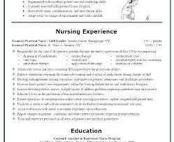 sample resume licensed practical nurse lpn resume template cynix pro