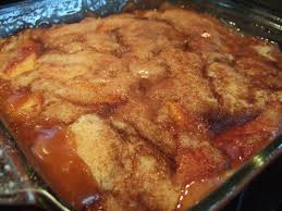 southern peach cobbler with canned peaches. Interesting Canned Momu0027s Peach Cobbler Or Pudding Inside Southern With Canned Peaches