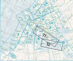 Europe High Altitude Enroute Ifr Chart Ehi 11 12
