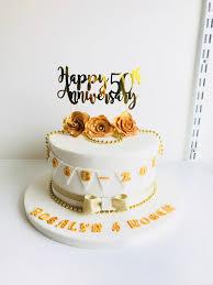 50th Wedding Anniversary Cake Ddscakes