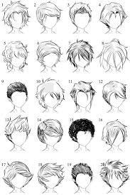 Hair Style Anime the 25 best anime hairstyles male ideas drawing 8565 by wearticles.com