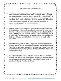 student friendly ap synthesis essay rubric by angie kratzer tpt student friendly ap synthesis essay rubric