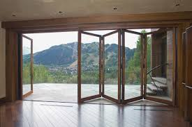 bi fold glass doors exterior cost image collections doors design