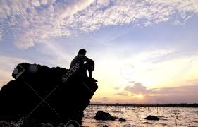 lonely lonely sea stock photo 18952875
